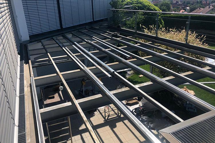 Balkonbodenkonstruktion