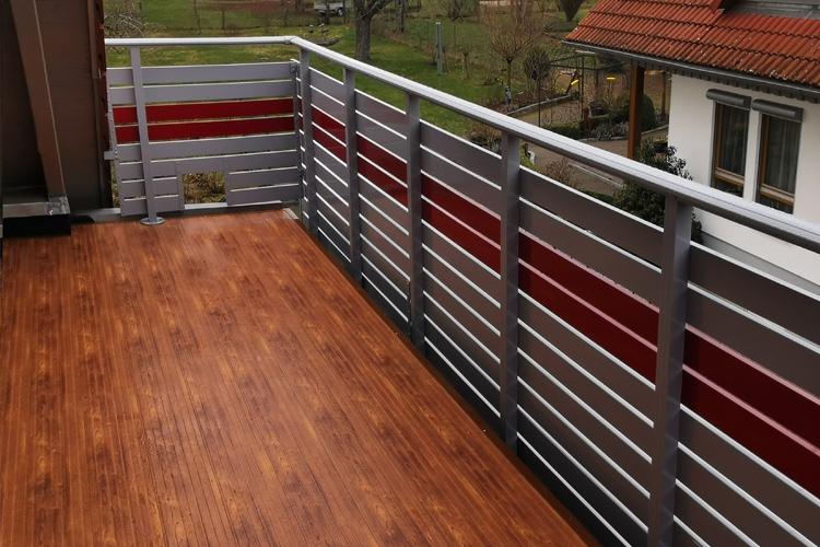 GEWA Balkonboden aus Aluminium