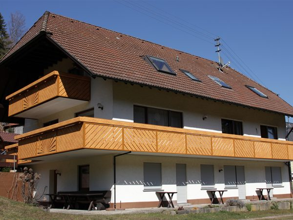 GEWA Balkonsysteme Balkongeländer Alu Holzoptik - Wood-Art