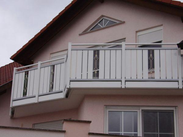 GEWA Balkonsysteme Alu Balkongeländer Elegance