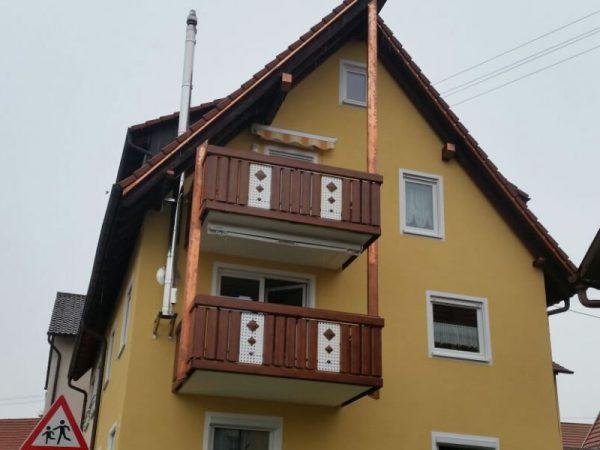 GEWA Balkonsysteme Balkongeländer Alu Exclusive