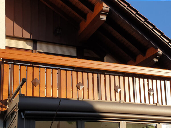 GEWA Balkonsysteme Balkongeländer Aluminium Highline