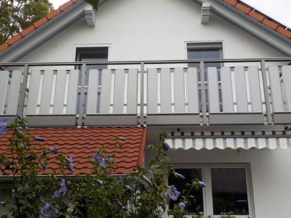 GEWA Balkonsysteme Balkongeländer Aluminium Starline