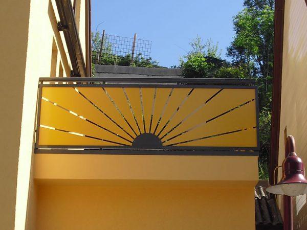 GEWA Balkonsysteme Balkongeländer Aluminium Sunrise