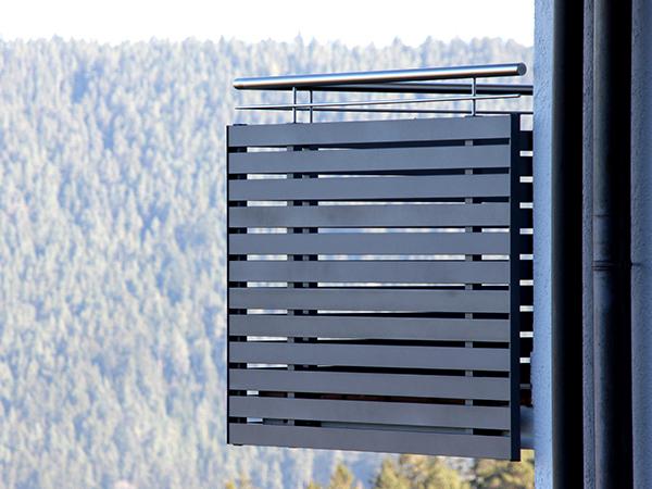 GEWA Balkonsysteme Balkongeländer Aluminium Trendline