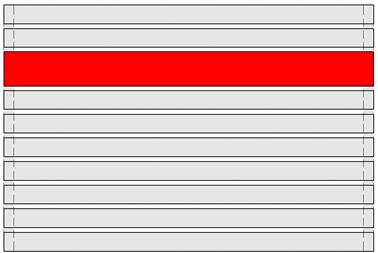 GEWA Balkongeländer Feld Trendline 2