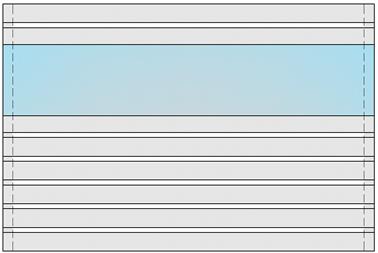 GEWA Balkongeländer Feld Trendline 3