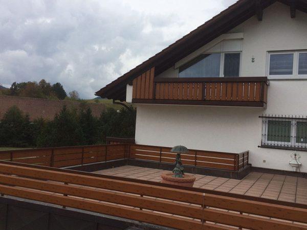 GEWA Balkonsysteme Geländer Dachterasse Aluminium