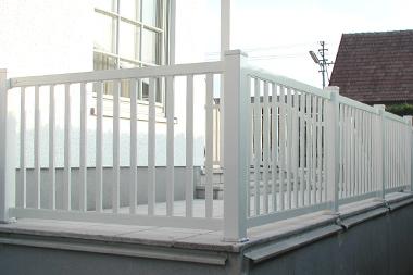 Terrassengeländer Aluminium