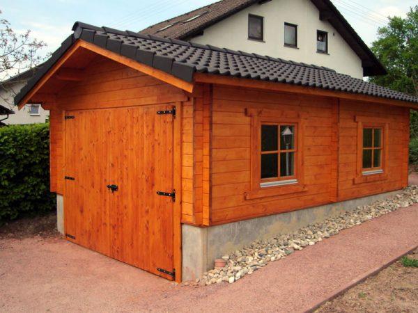 GEWA Balkonsysteme Gartenhaus Holz