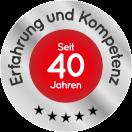 GEWA Balkone 40 Jahre Erfahrung Siegel