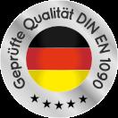 GEWA Balkone geprüfte Qualität Siegel