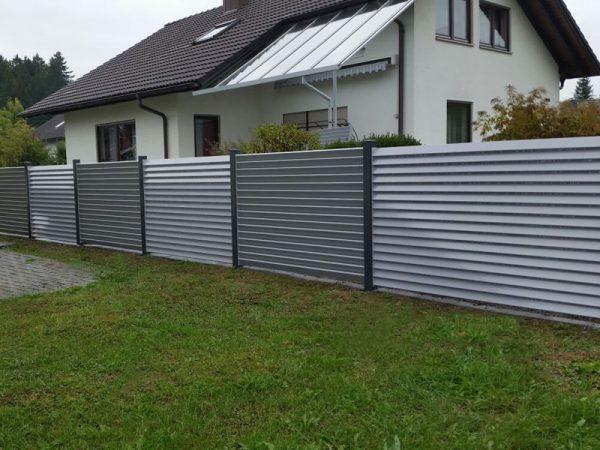 GEWA Sichtschutzzaun Aluminium