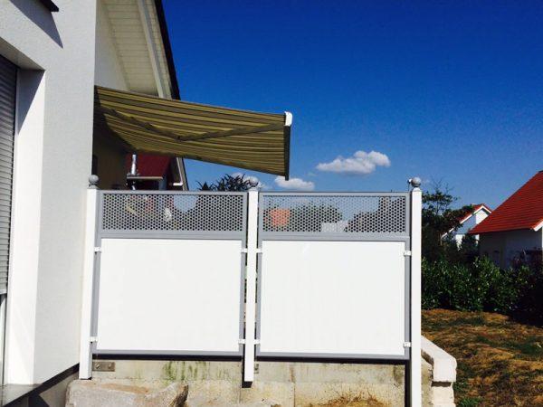 GEWA Balkonsysteme Balkon Sichtschutzzaun